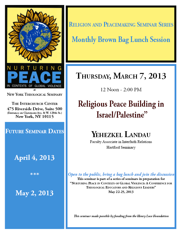 PEACECONFERENCE SEMINAR FLYER_ March 7